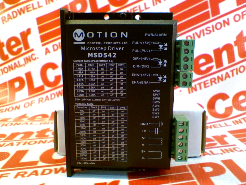 MOTION CONTROL PRODUCTS LTD MSD542