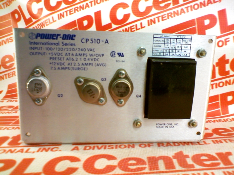 POWER ONE CP510-A
