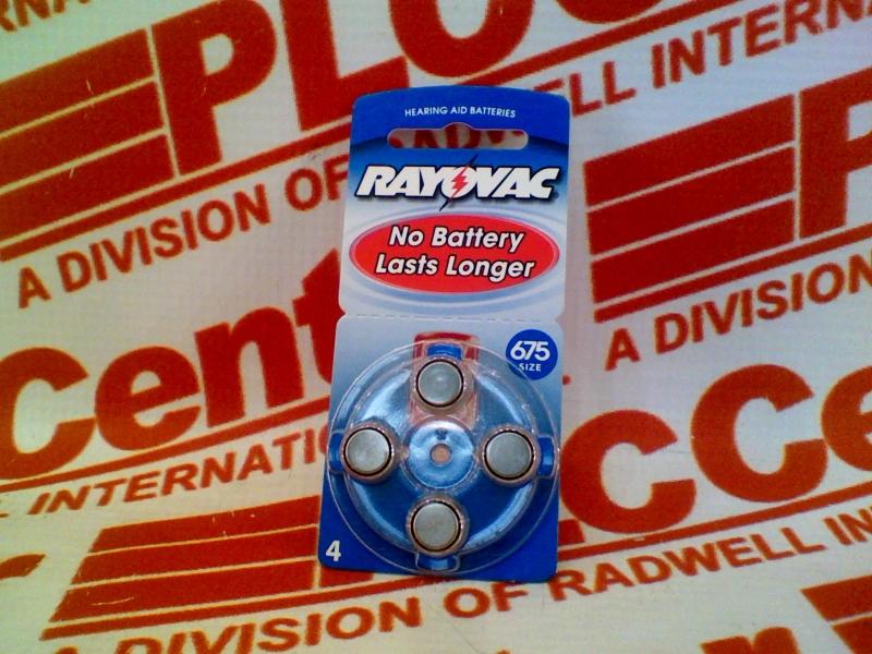 RAYOVAC L675ZA
