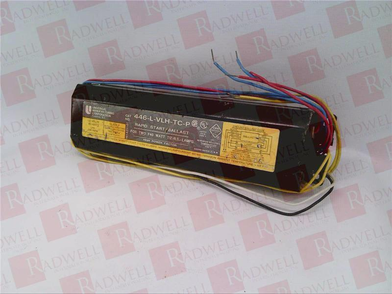 UNIVERSAL LIGHTING TECHNOLOGY 446-L-VLH-TC-P ... & 446-L-VLH-TC-P by UNIVERSAL LIGHTING TECHNOLOGY - Buy or Repair at ... azcodes.com