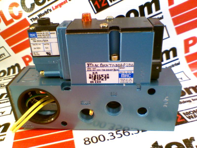 MAC VALVES INC 82A-AC-BKA-TM-DAAP-2DA