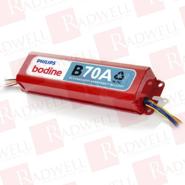 BODINE ELECTRIC B70A