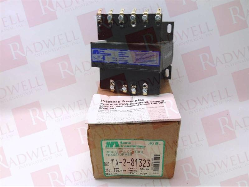 ACME ELECTRIC TA-2-81323