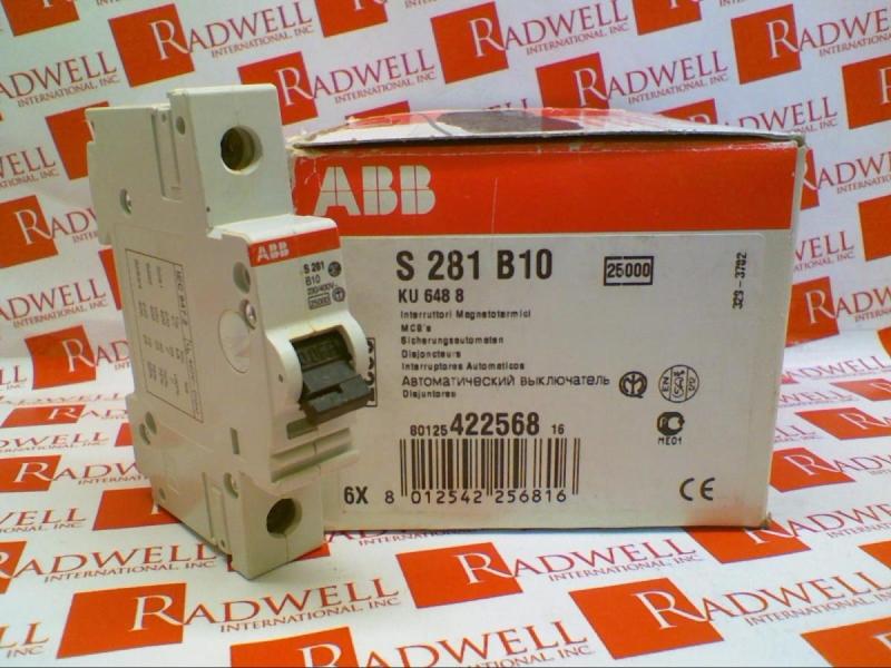 ABB S281-B10