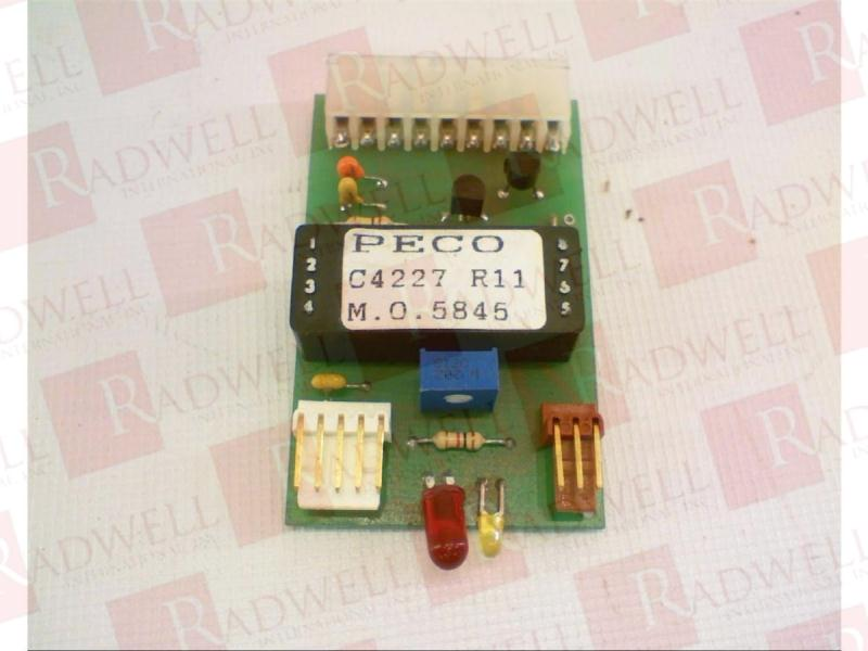 PECO CONTROLS C4227