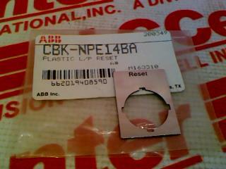 ABB CBK-NPE14BA