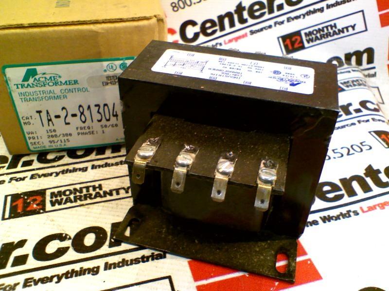 ACME ELECTRIC TA-2-81304