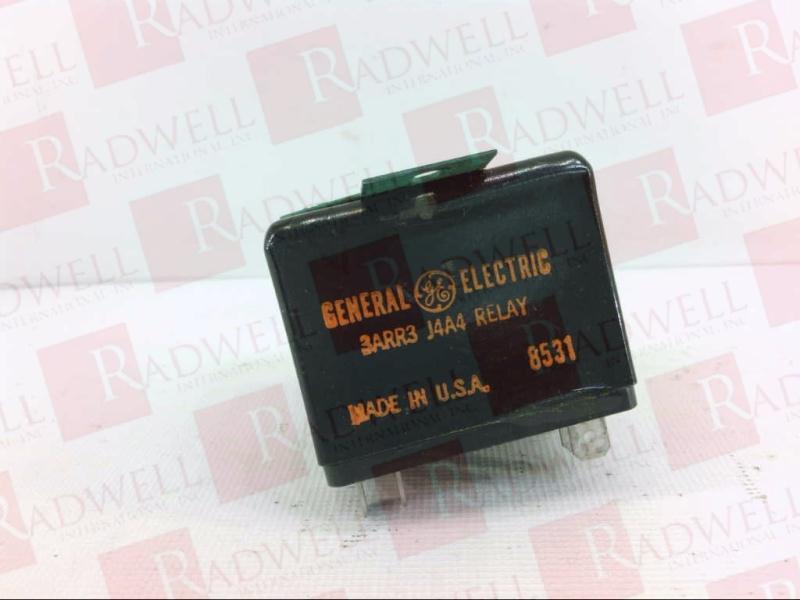 GENERAL ELECTRIC 3ARR3-J4A4