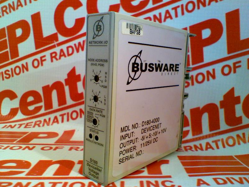 BUSWARE DIRECT D180-4000