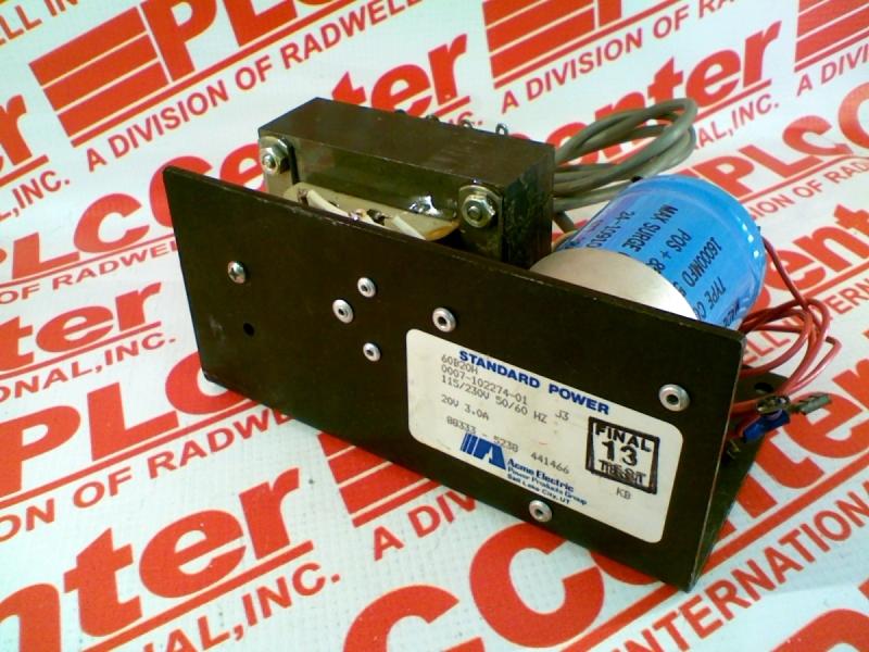 ACME ELECTRIC 0007-102274-01