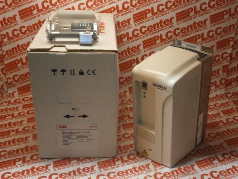 ABB ACS800-DEMAG-01-0009-3+E200+0J400+L501+L502+N672