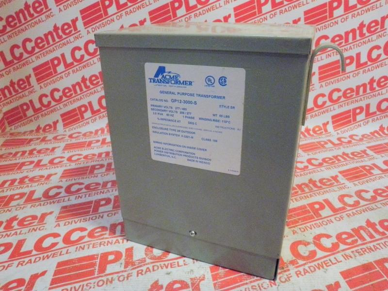 ACME ELECTRIC GP12-3000-S