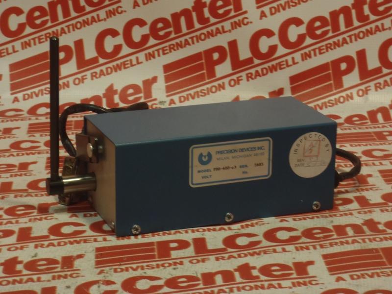 PRECISION DEVICES INC PDD-400-C3