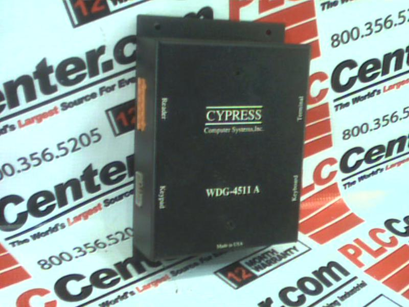 CYPRESS SOLUTIONS WDG-4511A