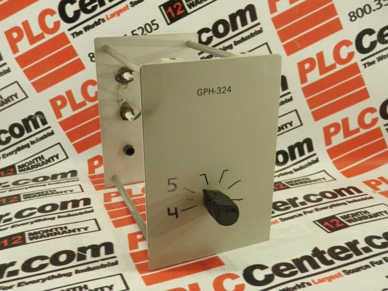 CVC PRODUCTS INC GPH-324