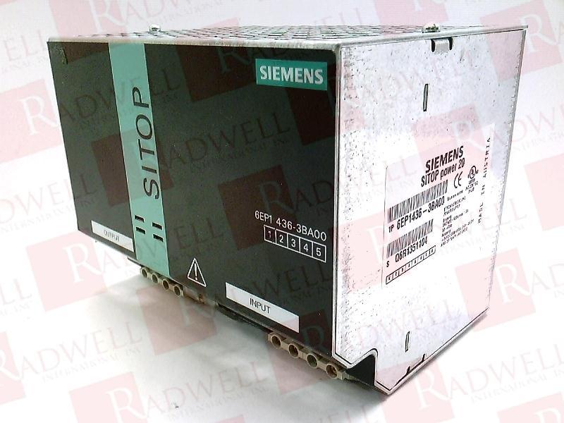 SIEMENS 6EP1-436-3BA00