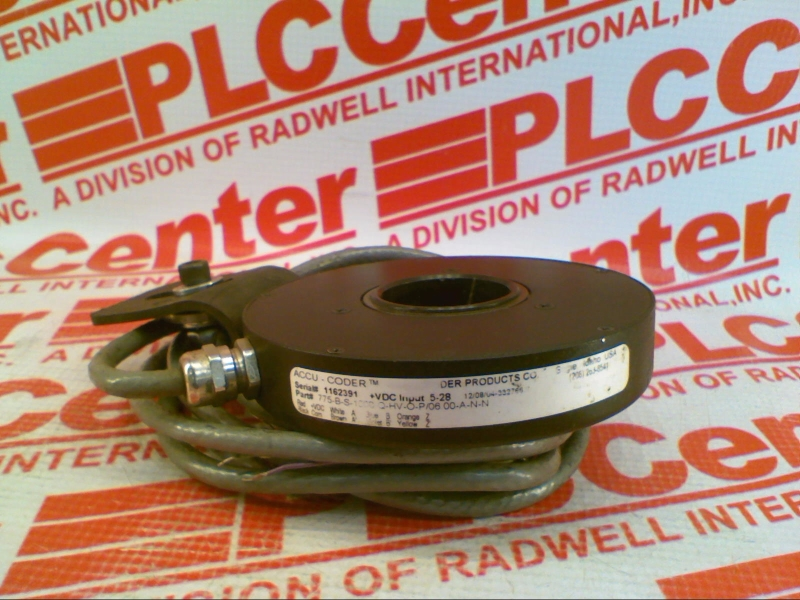 ACCU CODER 775-B-S-1000-Q-HV-O-P/06.00-A-N-N