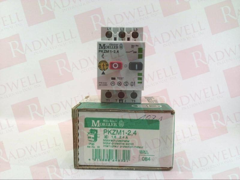 KLOCKNER MOELLER PKZM-1-2.4