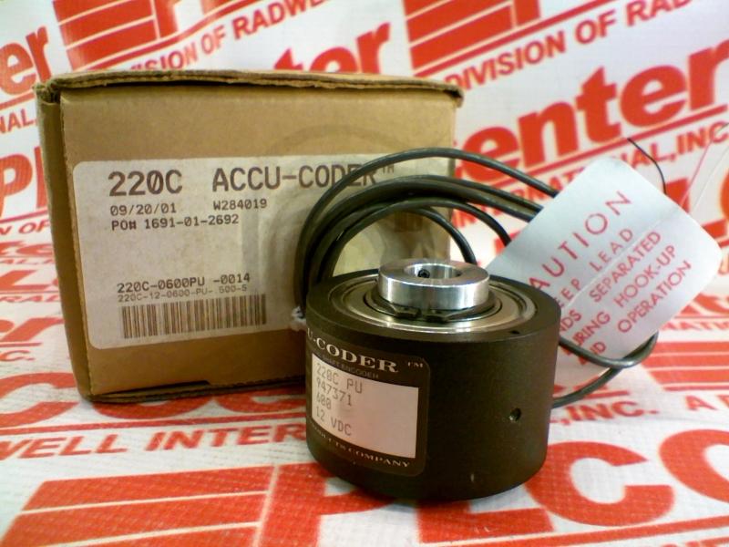 ACCU CODER 220C-12-0600-PU-500-S