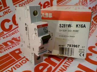 ABB S281W-K16A