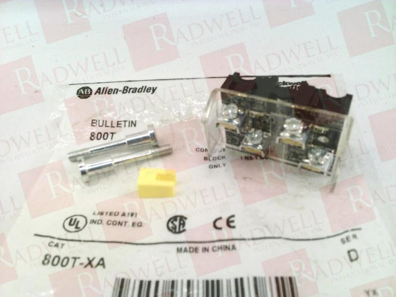 ALLEN BRADLEY 800T-XA