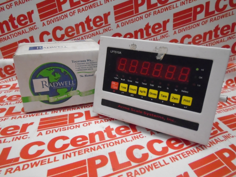 ACME SCALE SYSTEMS LP7510A
