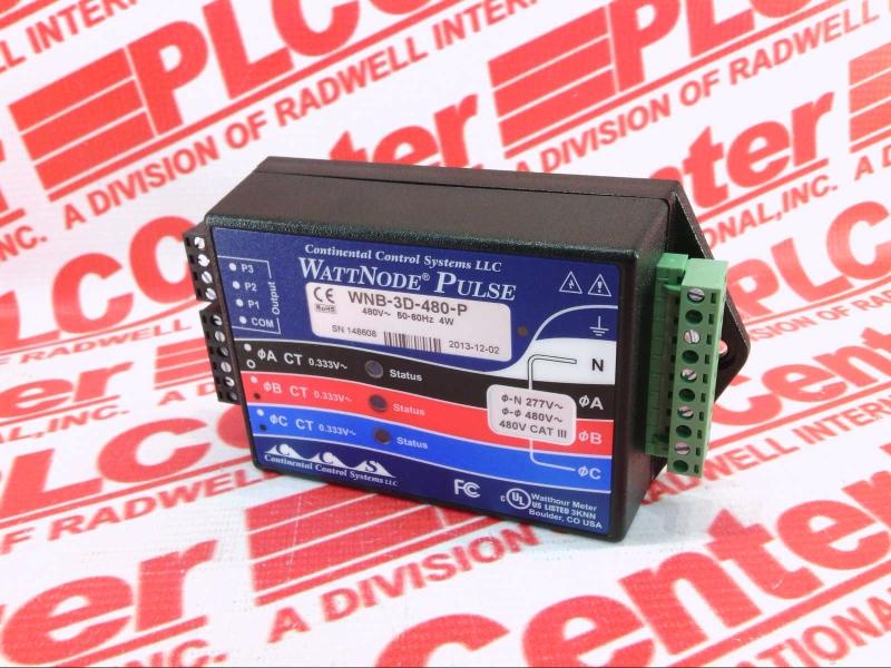 CONTINENTAL CONTROLS INC WNB-3D-480-P