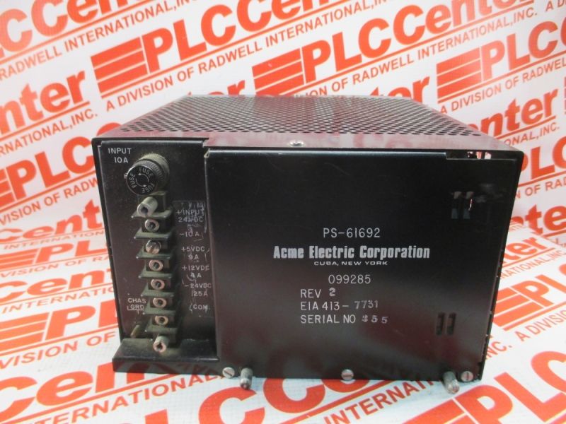 ACME ELECTRIC PS-61692