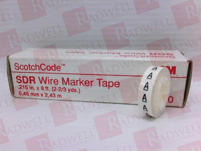 3M TAPE DIVISION SDR-A-EACH
