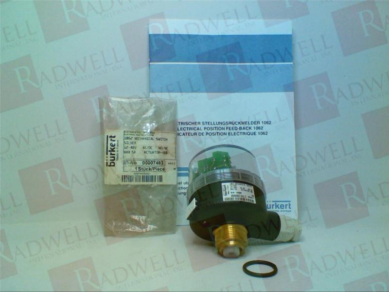 BURKERT EASY FLUID CONTROL SYS 007-463