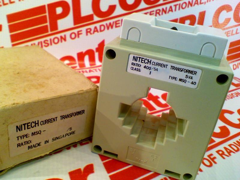NITECH MSQ-40-400/5A