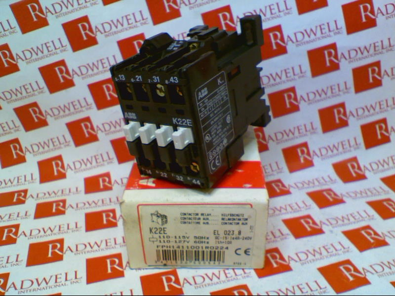 ABB K22E-110-115V/50HZ/110-127V/60HZ