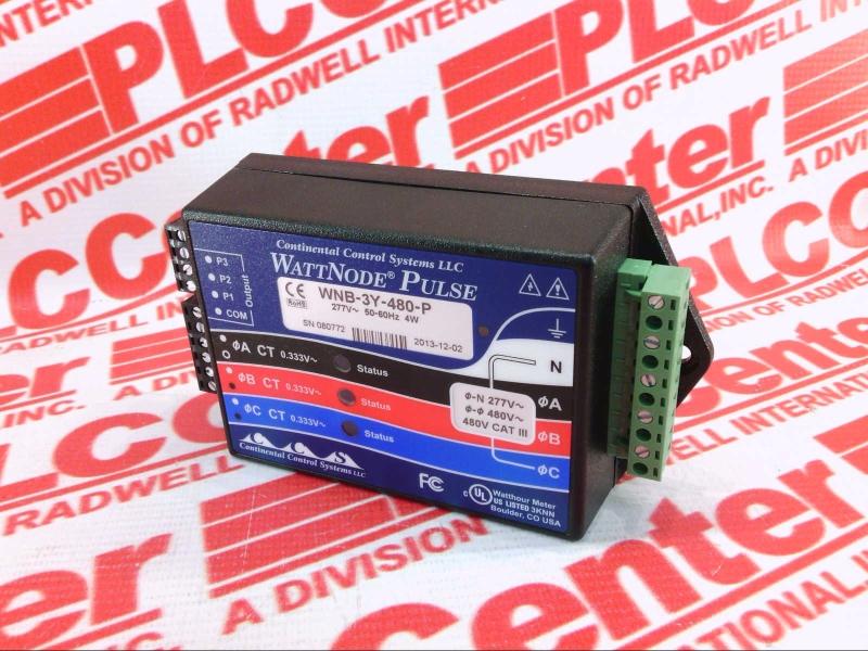 CONTINENTAL CONTROLS INC WNB-3Y-480-P