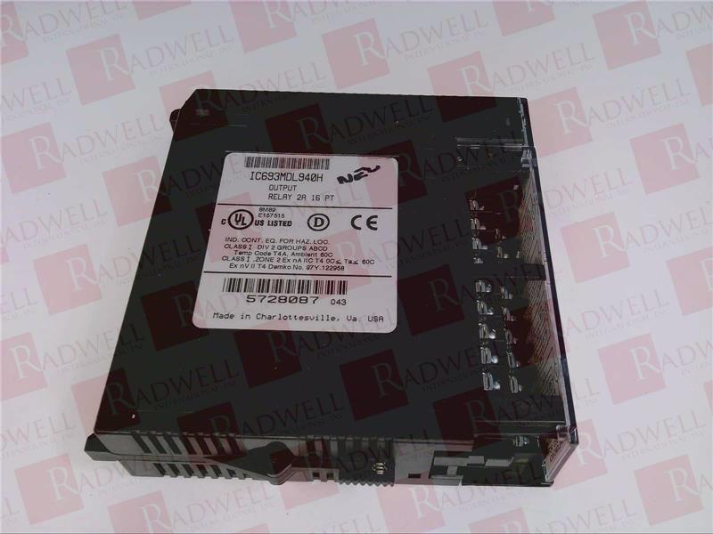 FANUC IC693MDL940 1