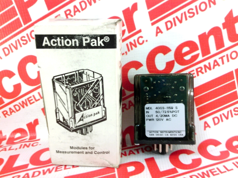 ACTION INSTRUMENTS AP4003-1159S-120V