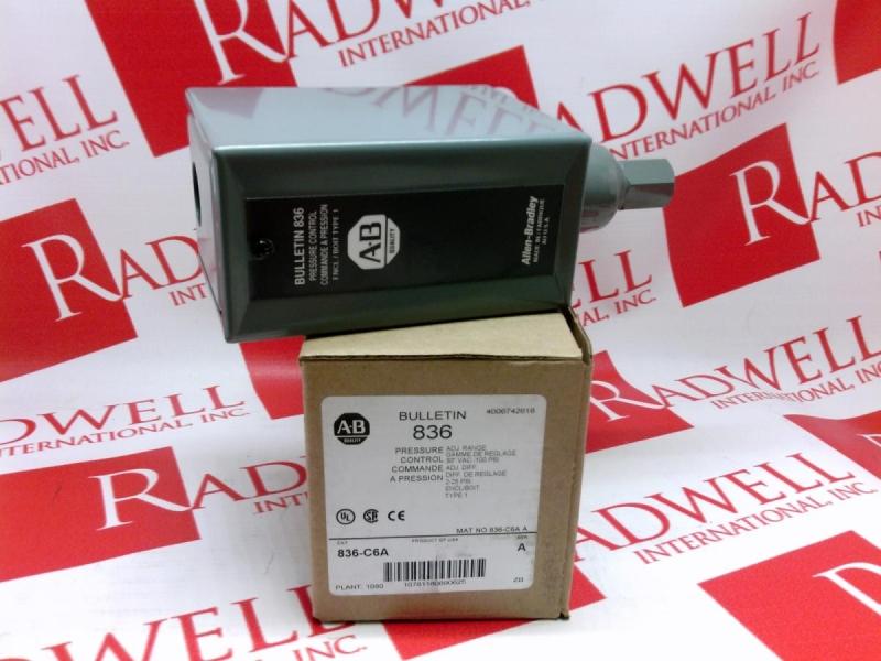 ALLEN BRADLEY 836-C6A
