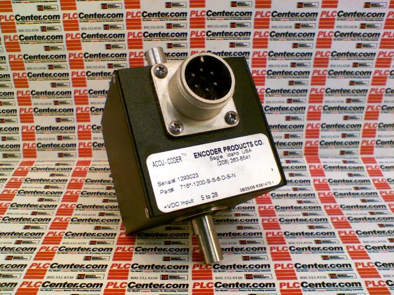 ACCU CODER 716-1200-S-S-6-D-S-N