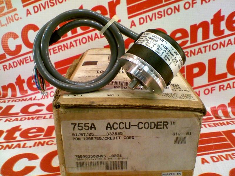 ACCU CODER 755A-07-S-2500-R-HV-1-S-S-N