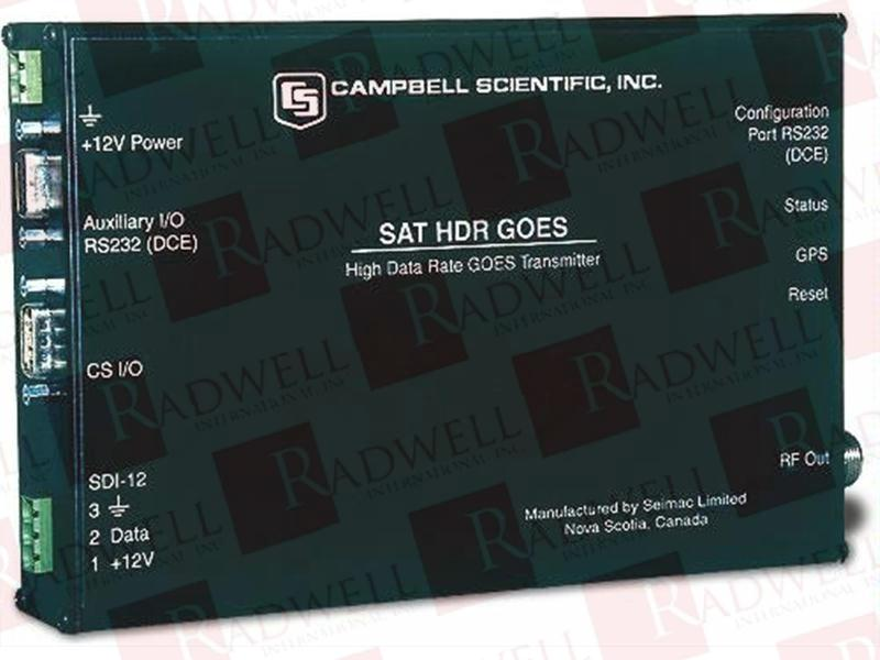 CAMPBELL SCIENTIFIC INC SAT-HDR-GOES-3