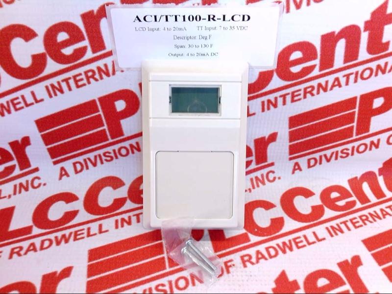 ACI TT100-R-LCD