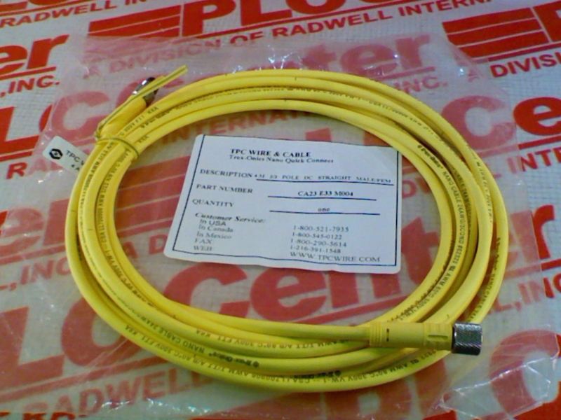 CA23-E33-M004 by TPC WIRE & CABLE - Buy or Repair at Radwell ...