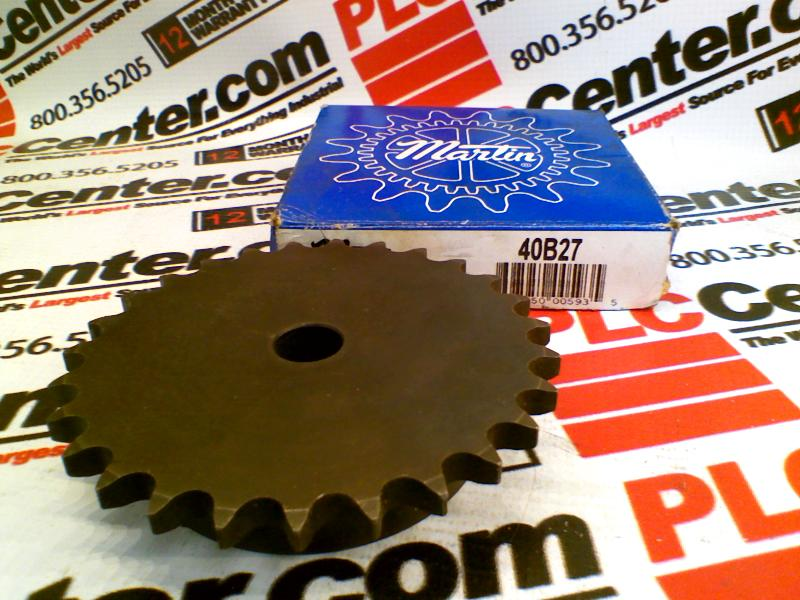 MARTIN SPROCKET & GEAR INC 40B27