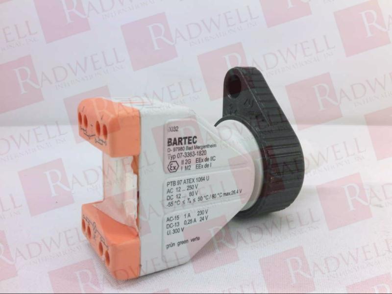 BARTEC 07-3363-1820