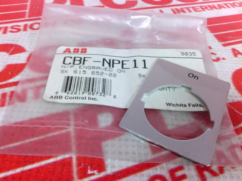 ABB CBF-NPE11