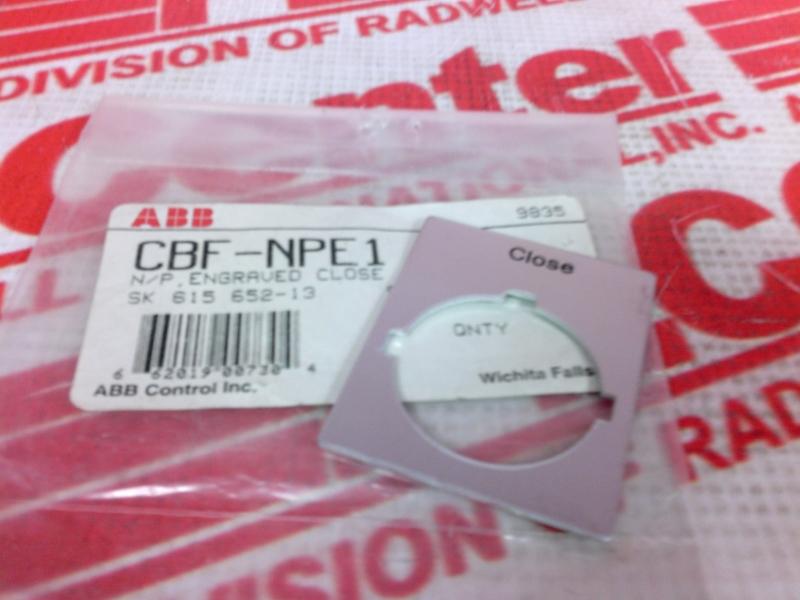 ABB CBF-NPE1