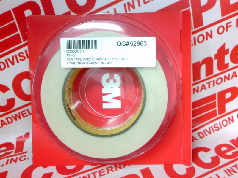 3M TAPE DIVISION 5423-1INX18YDS