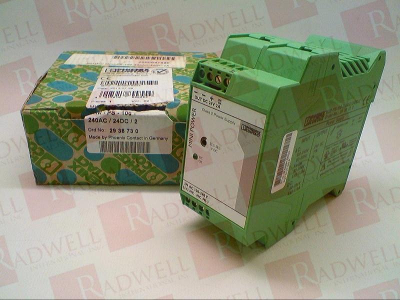 PHOENIX CONTACT MINI-PS-100-240AC/24DC/2