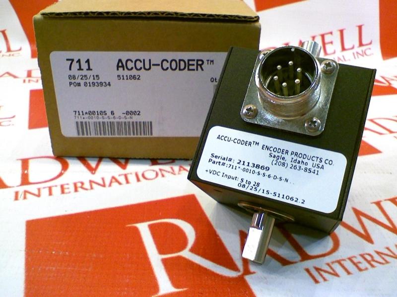 ACCU CODER 711-0010-S-S-6-D-S-N