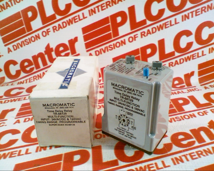 TR-68129 by MACROMATIC - Buy or Repair at Radwell - Radwell com