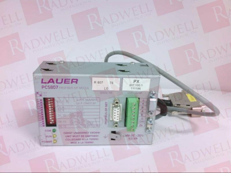 LAUER SYSTEME PCS-807